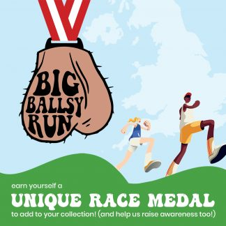 The Big Ballsy Run - Unique Race Medal